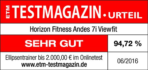 Horizon Fitness Elliptical Ergometer Andes 7i, 100769 - 13