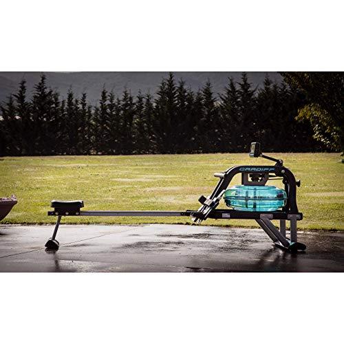 BH Fitness Cardiff R370 – Wasserrudergerät – Rudergerät – 6 Wiederstandsstufen – Einstellbare Pedale – LCD Monitor - 9