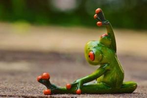 aufwaermen-frosch