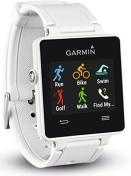Garmin vívoactive Sport GPS-Smartwatch - 3 Wochen Batterielaufzeit, Sport Apps (Laufen, Radfahren, Schwimmen, Golfen)