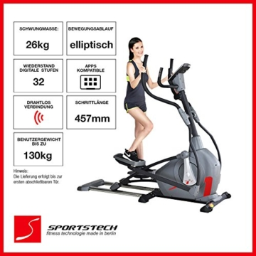 Sportstech Elite Crosstrainer CX650