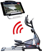 Sportstech Elite Crosstrainer CX650 Elliptical mit elliptischem Bewegungsablauf und Smartphone App Steuerung + Google Street View, Schwungmasse 26 KG, 5x HRC - 22 Trainingsprogramme - 32 Widerstand Stufen - Heimtrainer Ergometer Ellipsentrainer Stepper