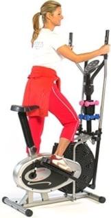 AsVIVA 2 in 1 CROSSTRAINER & HEIMTRAINER Fitnessgerät by AsVIVA