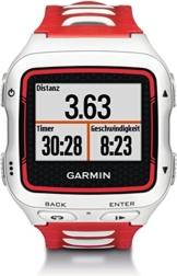 Garmin Forerunner 920XT – mit Brustgurt HRM-Run und Geschwindigkeits- / Trittfrequenzsensor – Weiss / Rot