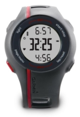 Garmin GPS Laufuhr Forerunner 110 HR – GPS Trainingscomputer inkl. Brustgurt