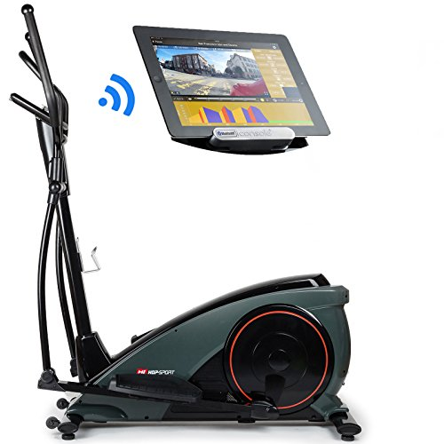 hop sport crosstrainer hs 060c ergometer elliptical heimtrainer mit bluetooth smartphone. Black Bedroom Furniture Sets. Home Design Ideas