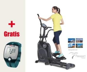 Horizon Fitness Andes 8i Crosstrainer Mod. 14/15 – inklusive FT1 Polar Pulsuhr und T31 Brustgurt