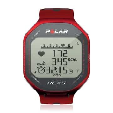 POLAR Herzfrequenzmessgerät RCX5, red, 90042057
