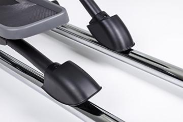 Hop-Sport Elliptical Crosstrainer HS-100C Ellipsentrainer Bluetooth 4.0 Smartphone Steuerung große Schrittlänge -