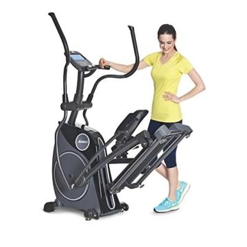 Horizon Fitness Andes 8i Crosstrainer Mod. 14/15 – inklusive FT1 Polar Pulsuhr und T31 Brustgurt -